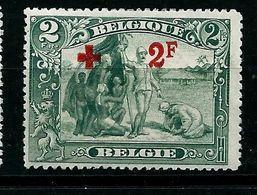 N° 161 -  Camp Antiesclavagiste -   (état: ** )  Côte 2020: 310 € - 1914-1915 Croix-Rouge
