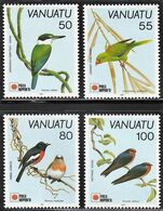 1991 Vanuatu PHILANIPPON: Birds Set And Souvenir Sheet (** / MNH / UMM) - Oiseaux
