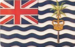 DIEGO GARCIA. B.I.O.T. - Flag. Territorio Británico Del Océano Índico. IO-PRE-C&W-NC02. (001) - Diego-Garcia