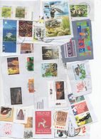 Tim 386 Lot Au Moins 100 Timbres At Least 100 Stamps Fragments, La Vue En Partie. What You See Is Part Of What You Get - Briefmarken