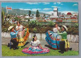 CR.- COSTA RICA, C.A. BAILES TIPICOS. TYPICAL DANCES - Costa Rica