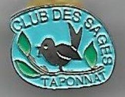@@ Oiseau Canari Taponnat-Fleurignac Charente Club Des Sages 3eme âge (1.4x1.9) @@vi34 - Associations