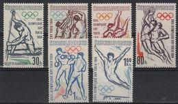 JO64/E44 - TCHECOSLOVAQUIE N° 1300/05 Neufs** Jeux Olympiques De Tokyo 1964 - Czechoslovakia