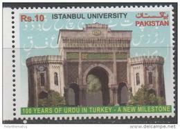 PAKISTAN, 2015, MNH, 100 YEARS OF URDU IN TURKEY, ISTANBUL UNIVERSITY,  1v - Sprachen