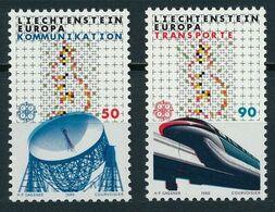 1988Liechtenstein937-938Europa CEPT / Satellite Dish - 1988