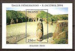 Island Islande Iceland Bloc Yvt 37 Mnh Neuf Sans Charniere - Blocks & Sheetlets