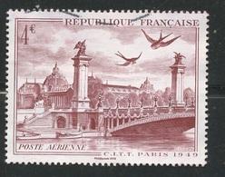 4,00€.  Pont Alexandre à Paris. Très Légèrement Oblitéré - Francia