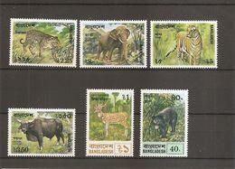 BanglaDesh - Faune - Mammifères ( 101/106 XXX -MNH) - Bangladesh