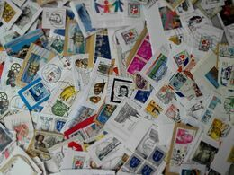 Vrac Plus De 1000 Timbres à Décoller Nombreux Doubles - Lots & Kiloware (mixtures) - Min. 1000 Stamps