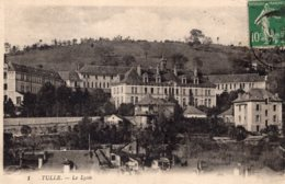 B70652 Cpa Tulle - Le Lycée - Tulle