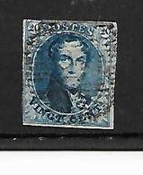 België  N° 4 - 1849-1850 Medallions (3/5)