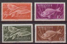 Sahara 1954 -Dia Del Sello  Ed 116-19 (**) - Sahara Espagnol