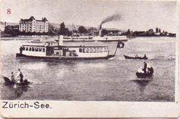 Sehr Seltene ALTE  Mini- AK   ZÜRICH / Schweiz  - See -  Ca. 1900 - ZH Zurich