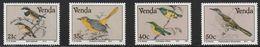 1991 Venda Birds Set (** / MNH / UMM) - Passereaux