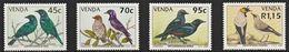 1994 Venda Starlings Set (** / MNH / UMM) - Passereaux