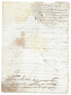 1799 COPIE LETTRE POUR SEIGNEURS ENREGISTREMENT A LOISEL DIRECTEUR CARCASSONNE SUR COMPTES CITOYEN VERRIEU - Documents Historiques