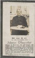 DP. E.H. JULIANUS D'HUYVETTER ° WATERVLIET 1860- + QUAREMONT 1924 - Religion & Esotérisme