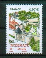 France 2020 - Rodemack, Moselle, Lorraine - MNH - Schlösser U. Burgen