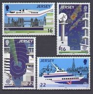 1988Jersey435-438Europa CEPT / Satellite Dish3,00 € - 1988