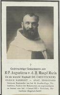 DP. E.P. AUGUSTINUS V.d. H. MAAGD MARIA ( RAPHAEL DE CAESTECKER) ° BRUGGE 1880 -+ GENT 1931 - Religion & Esotérisme