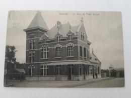 Dixmude La Gare Du Tram Vicinal - Diksmuide