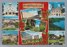 SV.- EL SALVADOR C.A. BASALICA DE GUADALUPE. PLAZA LIBERTAD. PALACIO NACIONAL. BIBLIOTECA. PUERTA DEL DABLO. HOTEL ..... - El Salvador