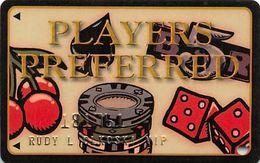 Players Island Casino Metropolis IL - 1st Issue Slot Card   ...[RSC]... - Carte Di Casinò
