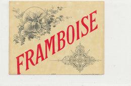 AN 1238  / ETIQUETTE     -   FRAMBOISE  N°67 - Otros