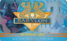 Casino Babylon - Surgut Russia - Slot Card  ...[FSC]... - Carte Di Casinò