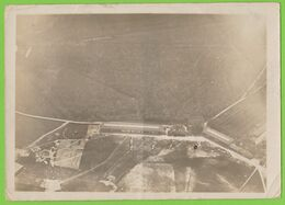 Ancienne Photo Aérienne Ww1 ~1918 Strasbourg Neuhof Polygone Champ D'aviation - Parc Aéro 4 - 18 X 13 Cm. - Aviation