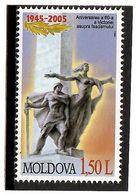 Moldova 2005 . Victory Day-60. 1v: 1.50L.  Michel # 510 - Moldavia