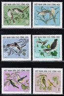 1973 North Vietnam Songbirds Set (** / MNH / UMM) - Passereaux