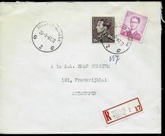 Doc. De IXELLES - ELSENE  - G 2 G - Du 26/05/67 En Rec. ( E ) - Postmark Collection