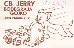 QSL CARD  --  CROATIA,  YUGOSLAVIA  --   JERRY, PRGOMELJ ( NEAR BJELOVAR ) - Cartes QSL