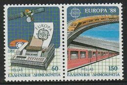 1988Greece1685-1686PaarEuropa CEPT / Satellite14,00 € - 1988