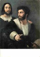 Art - Peinture - Raphael Sanzio - Raphaël Et Un Ami - Carte Neuve - CPM - Voir Scans Recto-Verso - Malerei & Gemälde