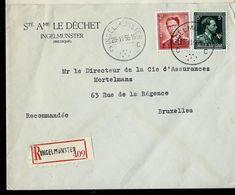 Doc. De INGELMUNSTER - C C - Du 28/11/56 En Rec. ( E ) - Postmark Collection