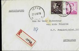 Doc. De IEPER  - G G - Du 27/05/67 En Rec. ( E ) - Postmark Collection