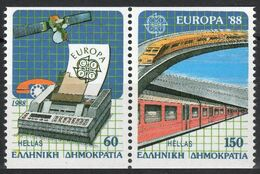 1988Greece1685C-1686CPaarEuropa CEPT / Satellite17,00 € - 1988