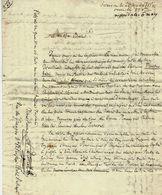 12543 CENT JOURS NAPOLEON LETTRE Par DARCEL OFFICIER A.DARCEL BLESSURES RUSSIE  POLITIQUE PHILOSOPHIE - Italy