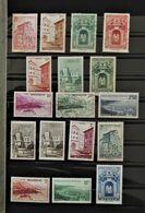 08 - 20 / Belle Collection De Monaco 1939 - 1958 En * - MH - Cote 300 Euros -  16 Scans - Timbres
