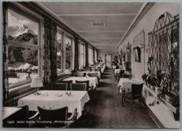 Bad Hindelang - S/w Hotel Pension Sonne 1   Wintergarten - Hindelang