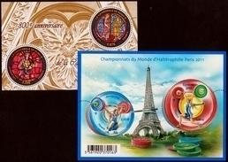 2011  Feuillets N° F4549 Et F4598  Neufs** (faciale: 2.94€) - Blocs & Feuillets