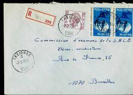 Doc. De TREIGNES - C - ( 6390 ) Du 07/03/79 En Rec. - Postmark Collection