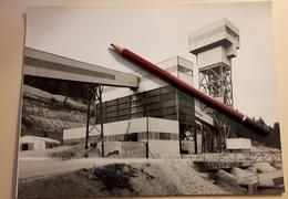 2 Photos De Presse 1959 Mine Uranium Saint Priest La Prugne Loire Mines - Autres Communes
