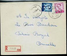 Doc. De TUBIZE - C C - Du 09/04/64  En Rec. ( E ) - Postmark Collection