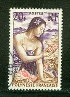 Polynésie Française / French Polynesia; Scott # 190; Usagé (3345) - French Polynesia