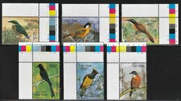 2000 Vietnam Indigenous Birds Set (** / MNH / UMM) - Passereaux