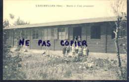Vauchelles Mairie Et Ecole Provisoire - Sonstige Gemeinden