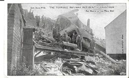 """RAILWAY ACCIDENT - GRANTHAM - POSTED -  """" DC4 /07 """" - Inghilterra"""